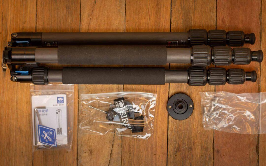 Sirui W-2204 Carbon Fibre Waterproof Tripod Review (2020 UPDATED)