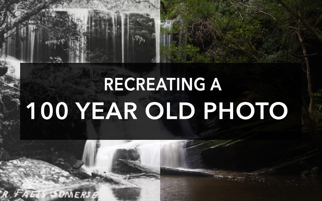 Recreating A 100 Year Old Photo